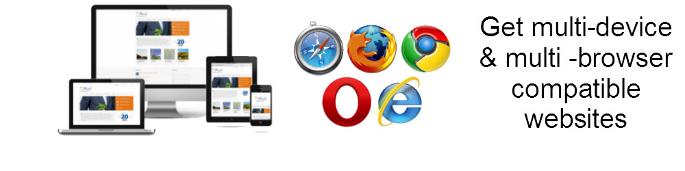 Cross Device and Browser Compatible Websites